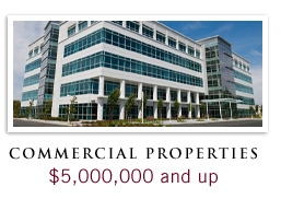 Commercial Properties of $5,000,000 and up