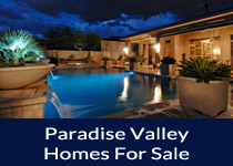 Search Paradise Valley AZ homes for sale
