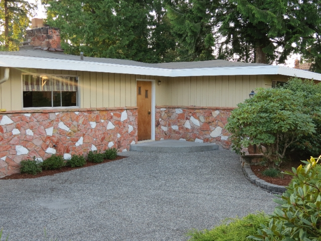 A view of my recent listing in Edmonds - An older home with a modern touch!!!
