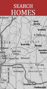 Search Homes for Sale in In Town Atlanta, Decatur, Virginia Highlands, Candler Park, Midway Woods, Eastern Highlands, Oakhurst, Kirkwood, East Lake