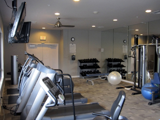Atlas in Hillcrest community fitness center, Atlas condos