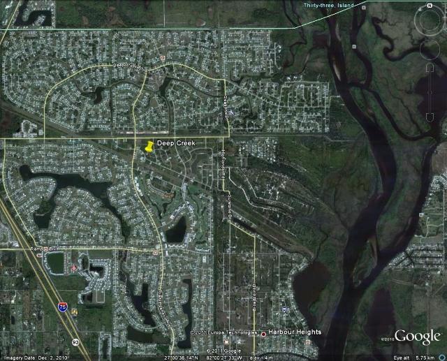 Deep Creek Florida Map.Deep Creek Area Information