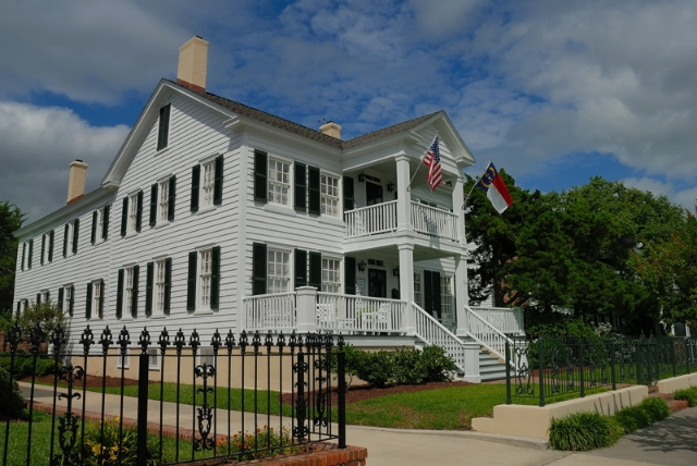 Area Historic Waterfront Homes in New Bern and Beaufort NC