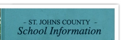 St. Johns County School Information