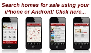 Search homes for sale using your mobile device.