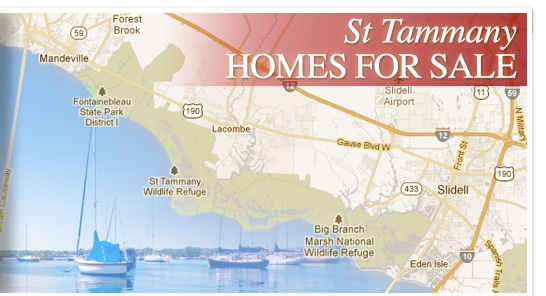 St Tammany Homes for Sale