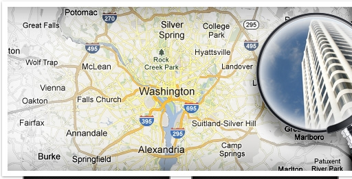 Click to Search Properties in D.C.