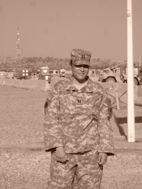 Picture taken at Camp Liberty, Iraq