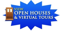 View Open Houses and Virtual Tours