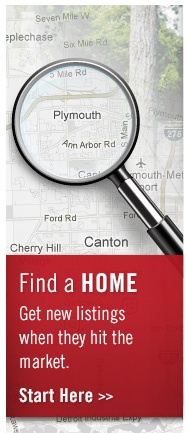 Find a Home - Get new listings when they hit the market.