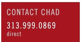 Contact Chad Jishi 313-999-0869