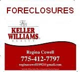 Reno and Northern Nevada Regional MLS lsitings of foreclosures