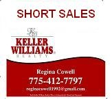 short sales properties listed by the MLS for Reno and Sparks