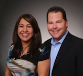 Claudia and Shaun Marion, founders of the Marion Real Estate Team with Keller Williams
