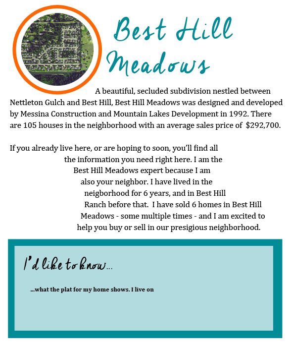 Best Hill Neighborhood by Jill Satterly