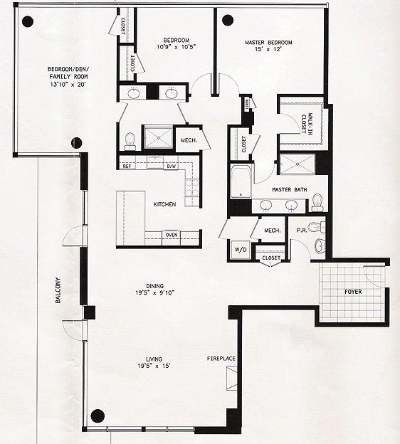 The Adagio Condominiums - The Beethoven -- 2 bedrooms 2.5 baths plus Den