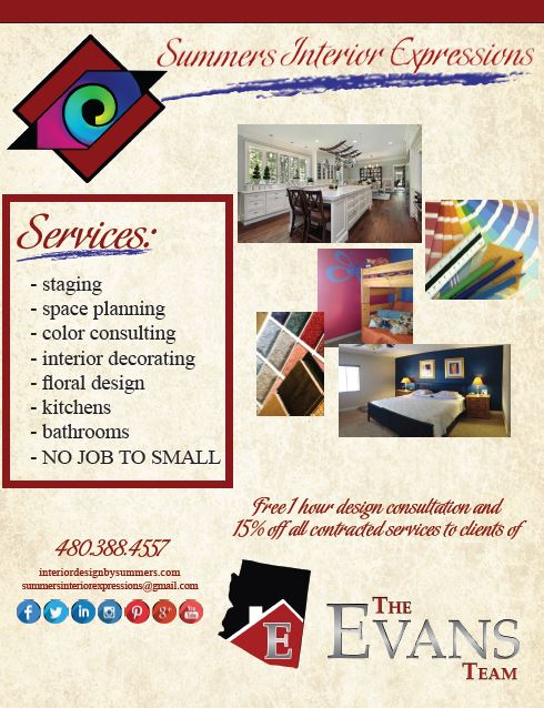 Summers Interior Expressions Offer