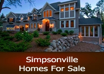 Search Simpsonville SC homes for sale