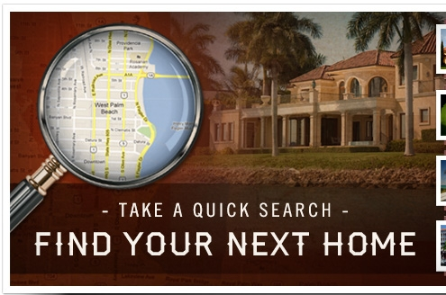 Take a quick search - find your next home