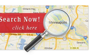Minnesota Home Search by Map