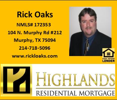 Rick Oaks - Highlands Residential Mortgage - FireBoss Realty Preferred Lender