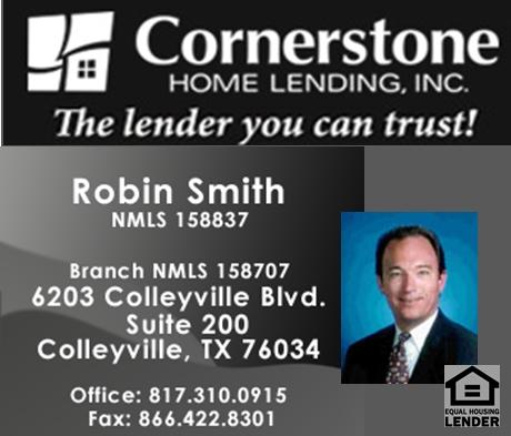 Robin Smith-Cornerstone Home Lending - FireBoss Realty Preferred Lender