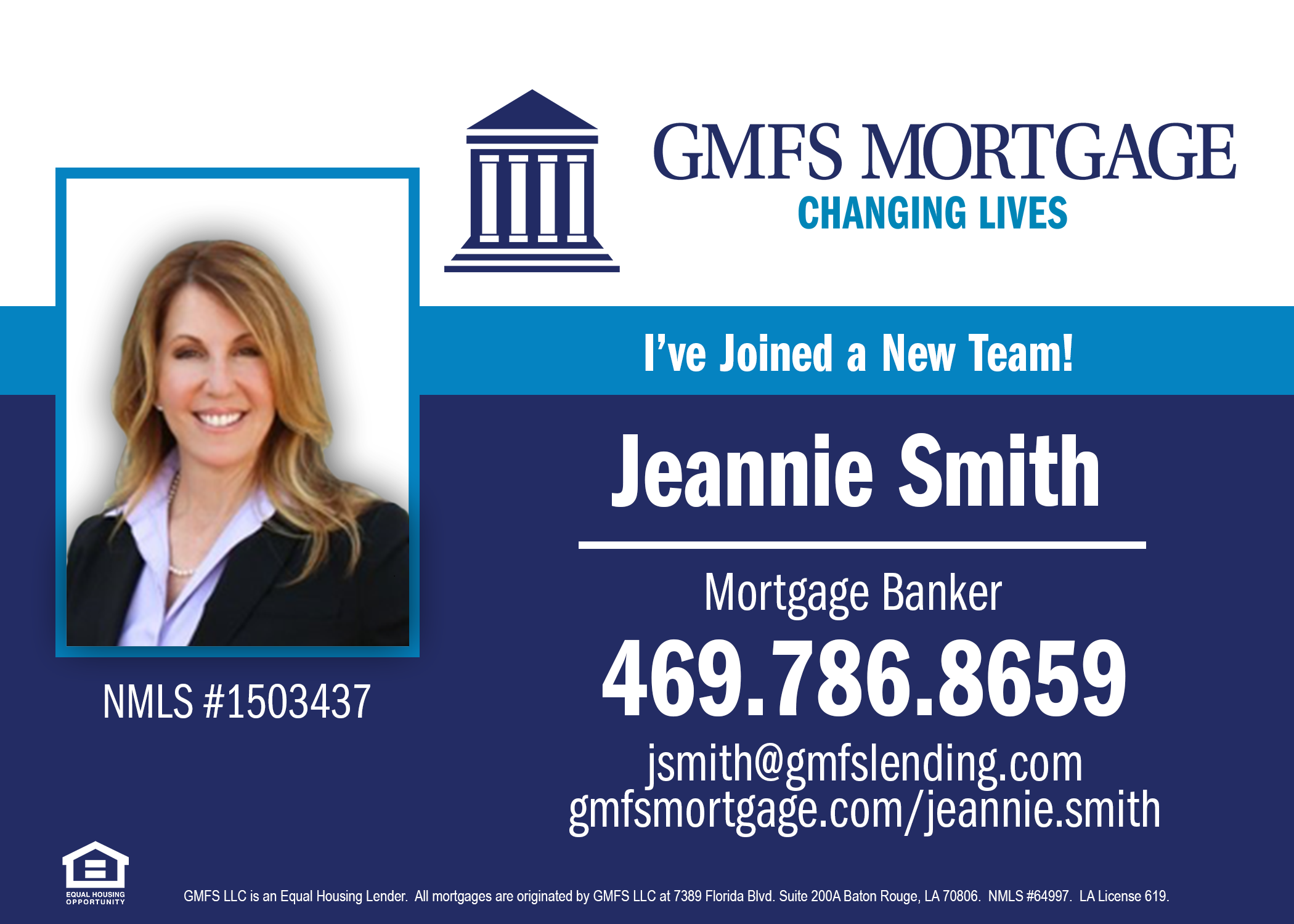 Jeannie Smith - GMFS Mortgage - FireBoss Realty Preferred Lender