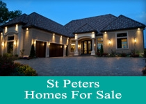 Search St. Peters MO homes for sale