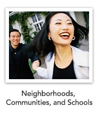 Neighborhoods, Communities, and Schools