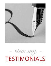 My Testimonials