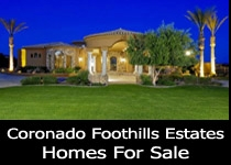 Coronado Foothills Estates homes for sale