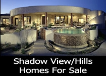 Shadow Hills Tucson homes for sale