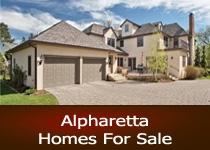 Alpharetta GA homes for sale