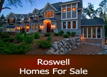 Search Roswell GA homes for sale