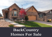 BackCountry CO homes for sale
