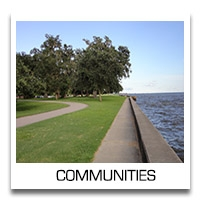 Information about Communities including St. Tammany, Mandeville, Madisonville, Covington, New Orleans