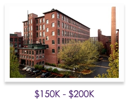 Lowell Lofts $150K - $200K