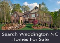 Weddington NC homes for sale