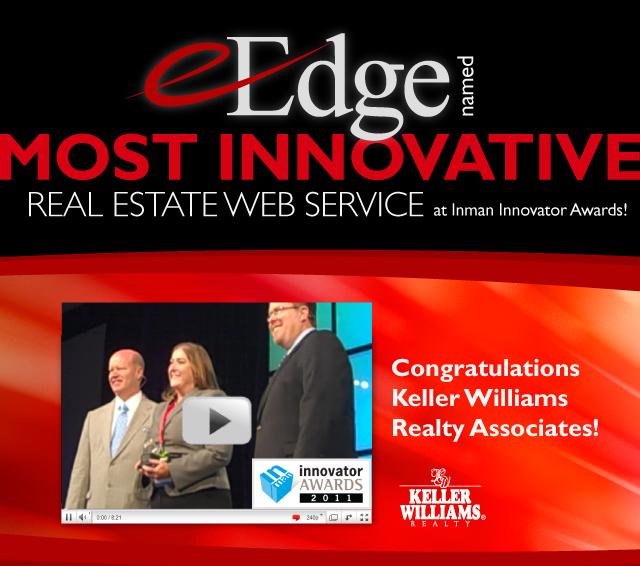 EEdge Wins Inman Innovator Award - Keller williams flyer templates