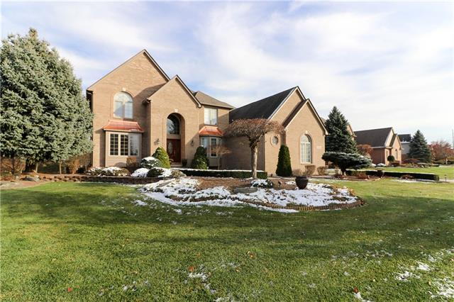 Photo of home for sale at 11860 Landers Drive, Plymouth Township MI