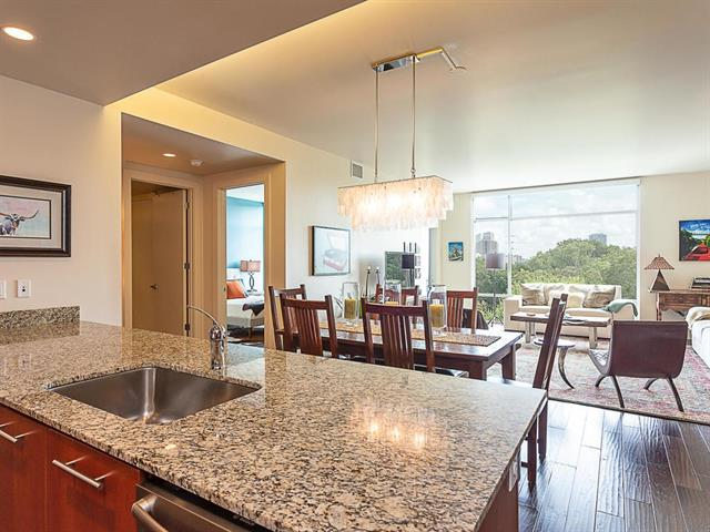 Photo of home for sale at 210 Lee Barton, Austin TX