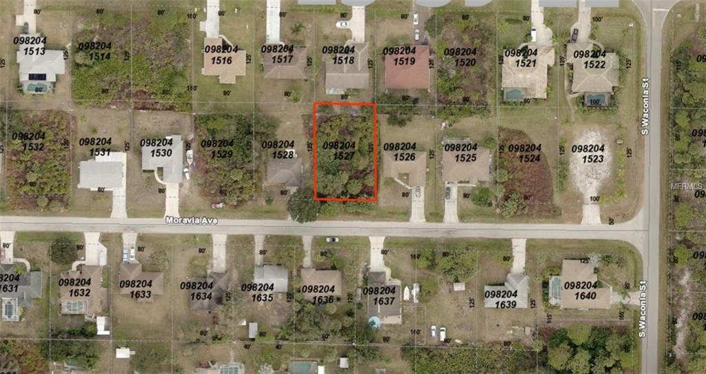 Photo of home for sale at 0982041527 MORAVIA AVENUE, North Port FL