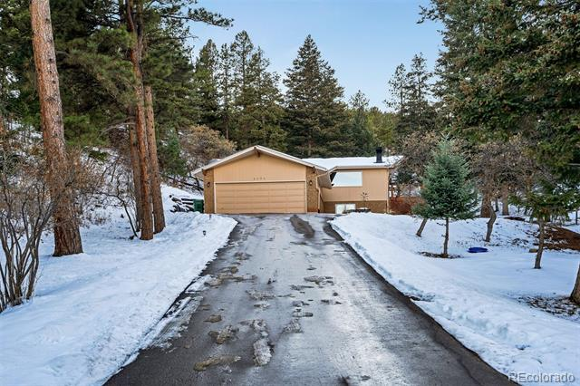 Photo of home for sale at 6096 Pike Drive South, Larkspur CO