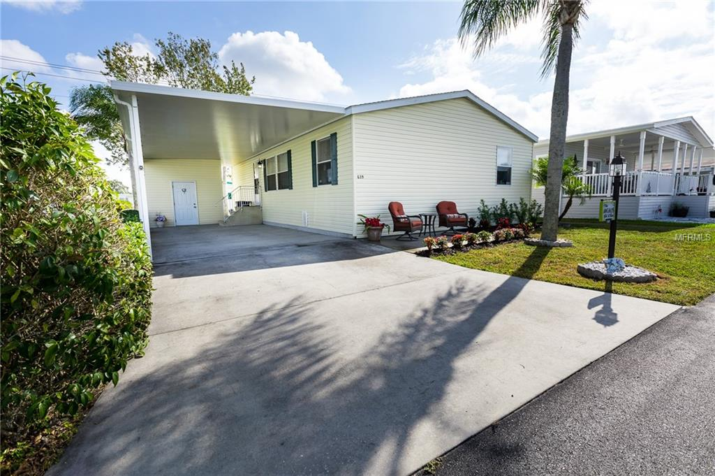 Photo of home for sale at 5316 53RD AVENUE, Bradenton FL
