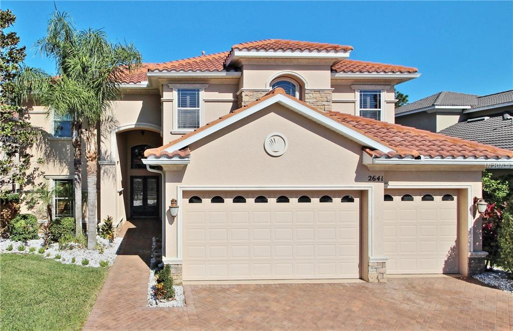 Photo of home for sale at 2641 GRAND LAKESIDE DRIVE, Palm Harbor FL