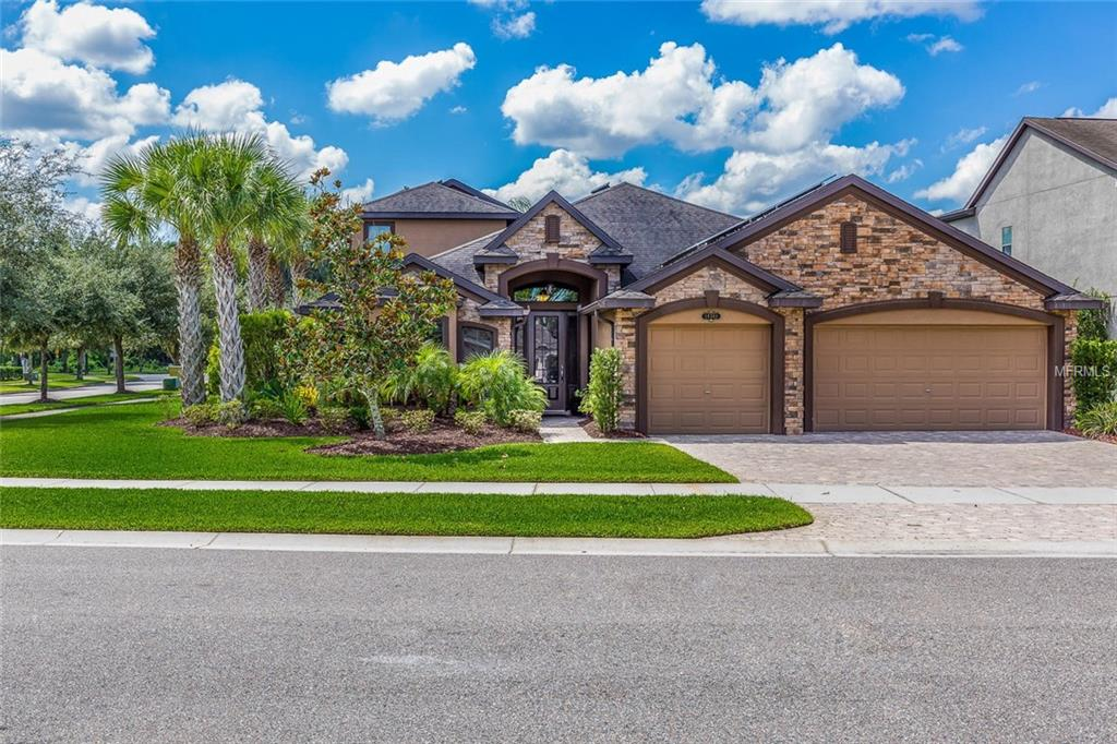 Photo of home for sale at 19361 YELLOW CLOVER DRIVE, Tampa FL