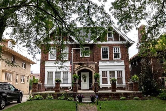 Photo of home for sale at 2036 Boston Boulevard W, Detroit MI