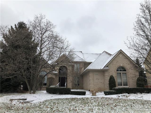 Photo of home for sale at 22320 Barclay Drive, Novi MI
