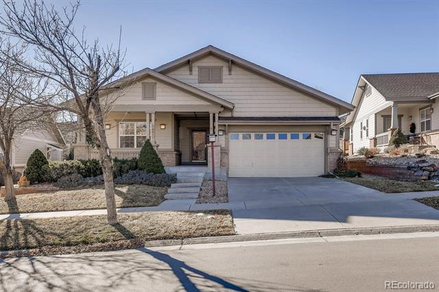 Photo of home for sale at 7881 Algonquian Way South, Aurora CO