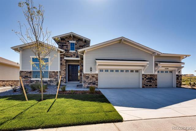 Photo of home for sale at 22749 Eads Circle E, Aurora CO